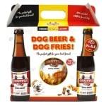 Snuffle gift box hondenbier en patat (1100 GR)