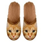 Plenty gifts pantoffel kat rood (MAAT 35-38)