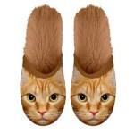 Plenty gifts pantoffel kat rood (MAAT 39-42)