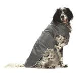 Croci hondenjas regenjas montreal grijs (80 CM)