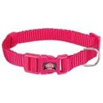 Trixie halsband hond premium fuchsia (22-35X1 CM)