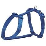 Trixie hondentuig premium h-tuig royal blauw (30-44X1 CM)