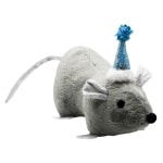 Happy pet winter wonderland catnip muis (22X10X8 CM)
