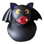 Croci halloween tricky vleermuis badeend vinyl zwart (9 CM)
