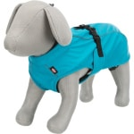 Trixie regenjas hond vimy blauw (RUG 45 CM BUIK 44-56 CM)