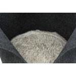 Trixie kattenmand luise rond vilt antraciet (40X40 CM)