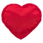Trixie hart pluche met valeriaan assorti (14 CM)