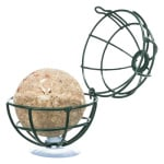 Trixie mezenbolhouder voor raam metaal donkergroen (7X7X7 CM)