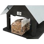 Trixie natura voederhuis met standaard vurenhout zwart (38X29X27 CM)