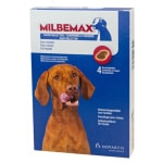 Milbemax kauwtablet ontworming hond (LARGE 4 TABLETTEN)