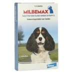 Milbemax kleine hond / pup (0,5-10 KG 2 TBL)
