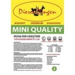 Budget premium dogfood adult mini quality (7 KG)