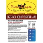 Budget premium dogfood digestive & mobility support lamb (12,5 KG)