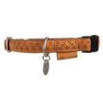 Macleather halsband bruin (25 MMX45-70 CM)