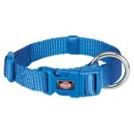 Trixie premium halsband hond royal blauw (40-65X2,5 CM)