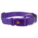 Trixie premium halsband hond violet (40-65X2,5 CM)