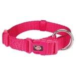Trixie premium halsband hond fuchsia (30-45X1,5 CM)