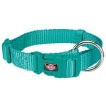 Trixie premium halsband hond oceaan blauw (30-45X1,5 CM)