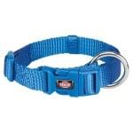 Trixie premium halsband hond royal blauw (30-45X1,5 CM)
