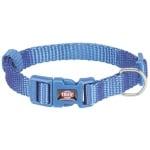 Trixie halsband hond premium royal blauw (22-35X1 CM)