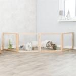 Trixie indoor ren 4 panelen hout (60-240X50 CM)