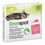 Bayer dronspot kat spot on (M 2,5-5 KG 2 PIP)