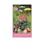 Rosewood simply nibbles tuinkruiden en appel kussentjes (50 GR)