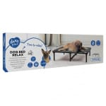 Duvo+ hondenstretcher relax grijs (118X74X19 CM)