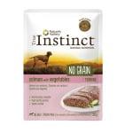 True instinct adult medium salmon terrine grain free (8X300 GR)