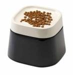 Savic ergo cube drinkbak creme / zwart (22X22X16 CM)