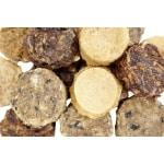 Snurk miniburgers mix zalm/schelvis/kabeljauw/tonijn (100 GR)