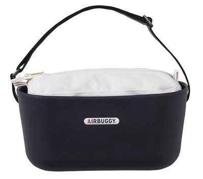 Airbuggy handtas hondenbuggy eorganizer donkergrijs (31X14X37 CM)