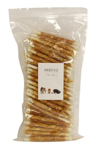 Petstyle living gedraaide stick met kip (100 ST)