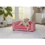 Enchanted hondenmand / sofa cookie roze (67,5X40,5X25,5 CM)