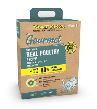 Natyka gourmet puppy poultry (9 KG)