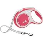 Flexi rollijn new comfort tape rood (M 5 MTR)