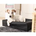 Bia bed hondenmand square zwart (BIA-60 70X60X15 CM)