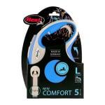 Flexi rollijn new comfort tape blauw (L 5 MTR)