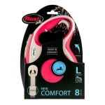 Flexi rollijn new comfort tape rood (L 8 MTR)