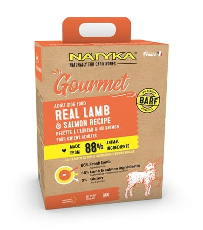 Natyka gourmet adult lamb / salmon (9 KG)