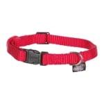 Trixie halsband hond classic rood (22-35X1 CM)