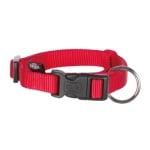 Trixie halsband hond classic rood (30-45X1,5 CM)