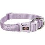Trixie halsband hond premium lila (22-35X1 CM)