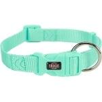 Trixie halsband hond premium mintgroen (35-55X2 CM)