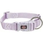 Trixie halsband hond premium lila (35-55X2 CM)