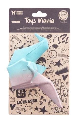 Martin sellier latex origami duif groen (15 CM)