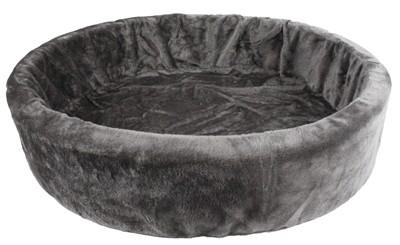 Petcomfort katten / hondenmand bont grijs (56X50X15 CM)