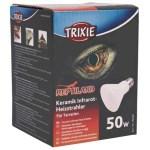 Trixie reptiland keramische infrarood warmtestraler (7,5X7,5X10 CM 50 WATT)