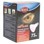 Trixie reptiland keramische infrarood warmtestraler (7,5X7,5X10 CM 75 WATT)