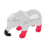 Martin sellier latex olifant oranje / grijs (13 CM)